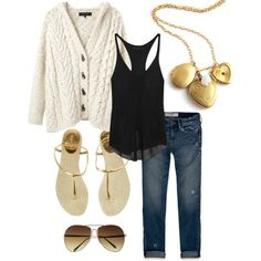 """""""With Gold"""" by me - hmhm on Polyvore"""