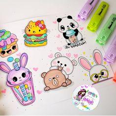 Mini Drawings, Cute Easy Drawings, Doodle Baby, Pink Glitter Background, Hand Doodles, Kawaii Disney, Love Frames, Hand Lettering Fonts, Envelope Art