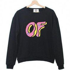 ce16c98dc799 OFWGKTA TYLER the CREATOR sweatshirt jumper hipster grunge retro paris  fashion tumblr swag dope cara sweet