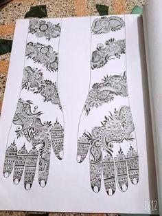 Modern Henna Designs, Mehndi Designs Book, Arabic Henna Designs, Indian Mehndi Designs, Mehndi Designs 2018, Mehndi Designs For Beginners, Mehndi Designs For Girls, Mehndi Design Pictures, Bridal Henna Designs
