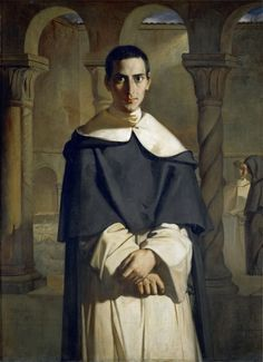 Théodore Chassériau - Father Dominique Lacordaire of the Dominican Order