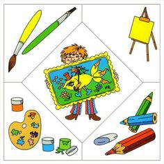 Crafts,Actvities and Worksheets for Preschool,Toddler and Kindergarten.Free printables and activity pages for free.Lots of worksheets and coloring pages. Preschool Education, Preschool Learning, Preschool Activities, Community Workers, Community Helpers, Puzzle Crafts, Kindergarten, School Clipart, Puzzles For Kids