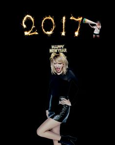 Taylor Swift sweet and a little HOT!!! Happy New Year 2017...