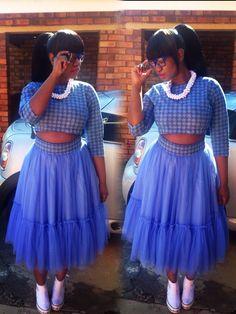 #tulleskirt #ankara #Africanfashion #loxionstyle #curvygirl