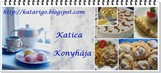 Katica konyhája My Bookmarks, Cereal, Muffin, Baking, Breakfast, Bread, Morning Coffee, Bakken, Backen