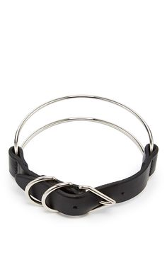 Triangle Buckle Choker by ALEXANDER WANG for Preorder on Moda Operandi