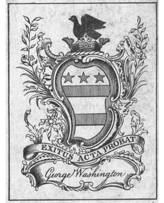 George Washington | 35 Bookplates Belonging To FamousPeople, Books