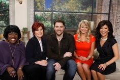 """Chris Young and Miranda Lambert visited CBS's The Talk on March 29 as part of the show's ACM Awards coverage. Miranda served as a guest co-host and revealed Chris' hidden talent - he can break dance! Chris performed his latest No. 1 single, """"You,"""" during the broadcast."""