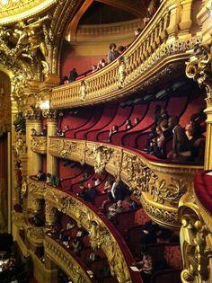 Palais Garnier Ballet in Paris