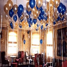 1000 images about balloons on pinterest balloon for Balloon decoration ideas without helium