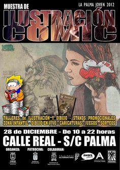 Muestra de Ilustración y Cómic en La Palma
