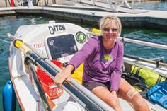 Without sail or motor, Mary Rose is rowing the So Cal coast in support of endangered birds