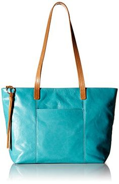 Women's Shoulder Bags - HOBO Vintage Cecily Handbag Shoulder Bag Turquoise One Size >>> Check this awesome product by going to the link at the image.
