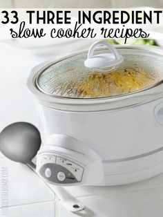 Slow- cooker recipes