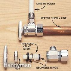 Fix a leaking shutoff valve and save yourself the cost of a visit from the plumber.