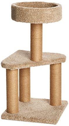cat scratching post and perch - AmazonBasics Cat Activity Tree with Scratching Posts, Medium   #CatScratchingPost