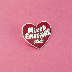 Mixed Emotions Club™ Pin
