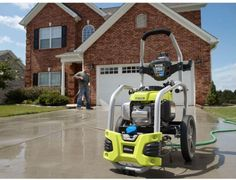 Buyer's Guide for Best Power Washer - Ryobi Power Washer Best Pressure Washer, Pressure Washers, Clean Patio, Ryobi Tools, Bob Vila, Gas And Electric, Outdoor Garden Furniture, Car Cleaning, Cool Things To Buy