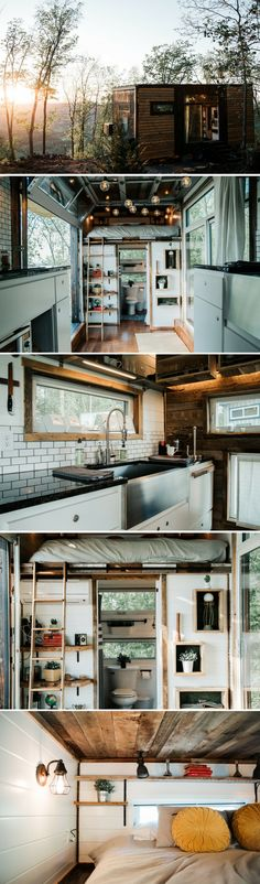 The Alpha: a tiny house getaway in Rising Fawn, Georgia