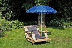 Outdoor-Sessel aus alten Paletten selber bauen
