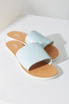 Charlie Leather Slide