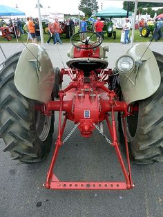 Old ford on the farm pinterest ford tractor and ads tractor rear view fandeluxe Gallery