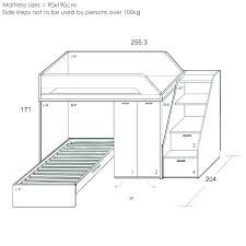 Image Result For Bunk Bed Dimensions Mm Bunk Beds Bunk Bed
