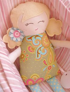 Cute dolls for little girls easy to make dolls for the | http://awesome-creative-handmade-collections.blogspot.com
