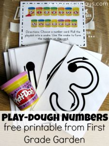 Please click the caption to pin from the original source http://first-grade-garden.blogspot.com/2011/09/math-stations-set-1.html