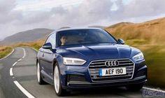 """""""أودي A5"""" في الأسواق لتنافس فخامة """"بي…: تنافس سيارة """"أودي A5"""" في نسختها الكوبيه ذات البابين من صالون النسخة A4، سيارتي """"4-series BMW""""،…"""