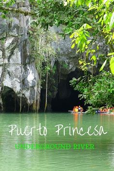 The Puerto Princesa Underground River on the island of Palawan, the Philippines. An amazing place and one of the new seven wonders of the world