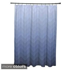 Shop for Faded Chevron Pattern Shower Curtain. Get free delivery at Overstock.com - Your Online Bath & Towels Outlet Store! Get 5% in rewards with Club O! - 16995078