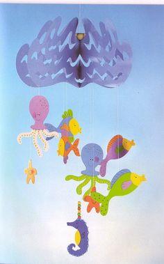 Mobil paper - U. Hanging Ornaments, Dream Catcher, Garland, Kids Rugs, Wreaths, Pretty, Albums, Decor, Mobiles