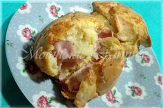 Moinho De Farinha: Queques de queijo e fiambre