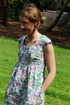 sewpony: Selfish Sewing Week//Garment Three: Washi dress