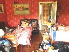 Före - Vardagsrummet