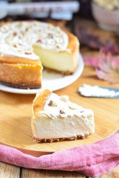 Esta tarta de queso y nocilla blanca es la más buena que hemos comido.