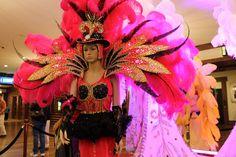 mardi gras costume at LDL casino lake charles La