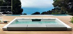 SEASIDE 640 Hot tub by TEUCO design Talocci Design