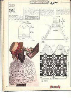 Monochrom Borders - Majida Awashreh - Álbuns da web do Picasa Crochet Bag Tutorials, Crochet Doily Patterns, Crochet Diagram, Lace Patterns, Crochet Videos, Filet Crochet, Crochet Motif, Crochet Stitches, Knit Crochet