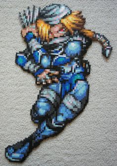 Shiek perler bead design. Holy hell!!! this is amazing!