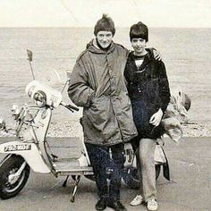 In this series of Retro Eye Candy, we visually explore the Mod Culture in England during the sixties. The scooters, suits, the hangouts and more. New Motorcycles, Vintage Motorcycles, Youth Culture, Pop Culture, Mod Scooter, Lambretta Scooter, Piaggio Vespa, Scooter Girl, Multimedia
