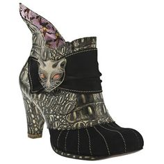 Irregular Choice Whimsical Miaow Ankle discovered on Fantasy Shopper Buy Shoes, Me Too Shoes, Irregular Choice Shoes, Online Shopping Shoes, Shoe Boots, Ankle Boots, Fashion Shoes, Stylish, My Style