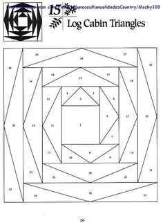 Risultati immagini per paper pieced istruzioni