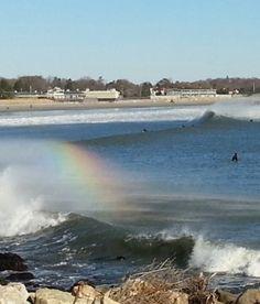 Narragansett town beach Thanksgiving 2013