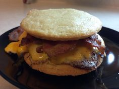 THE BEST LOW CARB BUNS EVER!  Better than Oopsie's better than flax, its the almond bun!  Perfect for a breakfast sandwich or a burger.  Doesn't fall apart and tastes great!