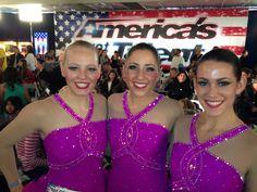 Haydenettes Audition for America's Got Talent #Haydenettes #SynchroSkating #AGT, so exciting