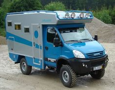 BiMobil EX345 on Iveco Daily 4x4 chassis http://www.bimobil.com/
