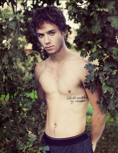 "Jeremy Sumpter, the star of 2003's Peter Pan loved the beloved fairytail so much he decided to get a great quote from the book tattooed on his side, ""To Die Would Be an Awfully Big Adventure"". Great movie by the way."