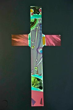 The Cross. ( With D. Hirst and expensive skull below )